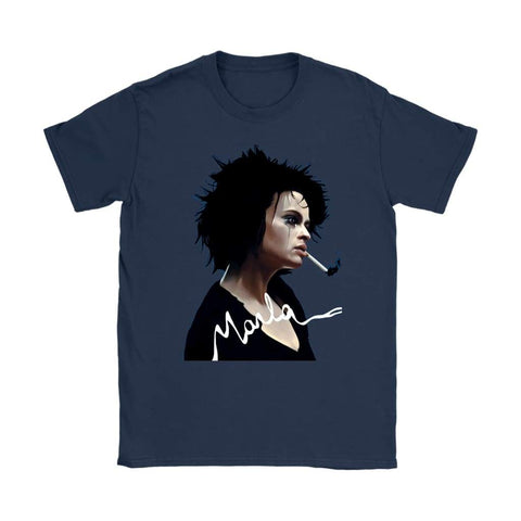 Fight Club Marla Damen T-Shirt - Gildan Damen T-Shirt / Navy / S - T-Shirt