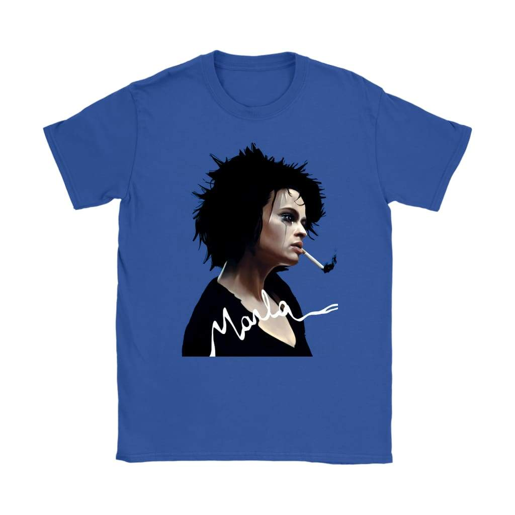 Fight Club Τζιν Marla Womens - T-shirt Gildan Γυναικών / Royal Blue / S - T-shirt