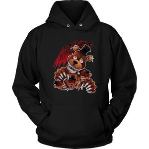 Five Nights at Freddys Bear Hoodie - Unisex Hoodie / Black / S - T-shirt