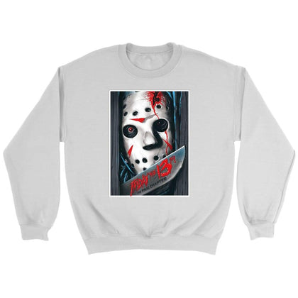 Vendredi 13 Sweat Final Chapter - Sweat ras du cou / Blanc / S - T-shirt