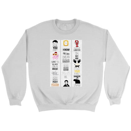 Friend Memories Sweatshirt - Sweat ras du cou / Blanc / S - T-shirt