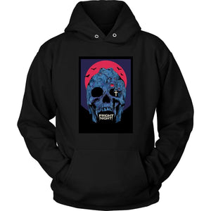 Fright Night Hoodie - Unisex Hoodie / Black / S - T-shirt