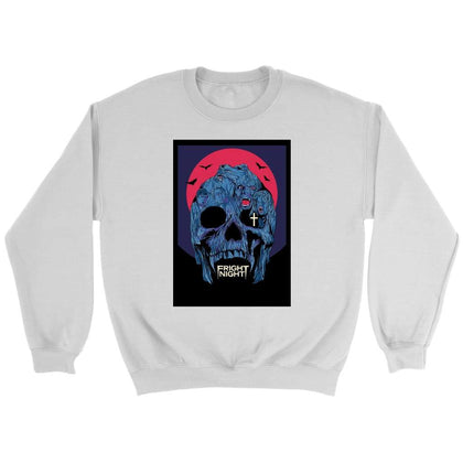 Fright Night Sweat - Sweat ras du cou / Blanc / S - T-shirt