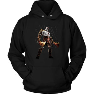 God of War Kratos Hoodie - Unisex Hoodie / Black / S - T-shirt