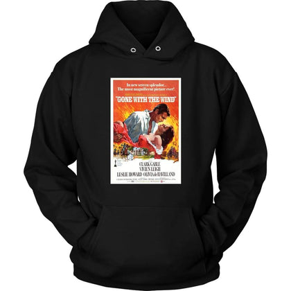 Gone with the Wind Hoodie - Unisex Hoodie / Black / S - T-shirt