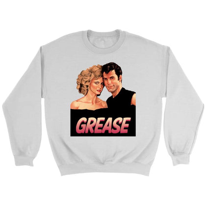 Grease Sweat - Sweat ras du cou / Blanc / S - T-shirt