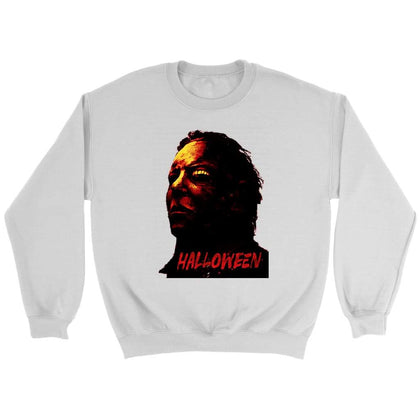 Sweat Halloween - Sweat ras du cou / Blanc / S - T-shirt