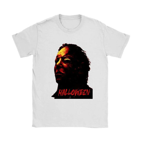 Halloween Womens T-shirt - Gildan Womens T-Shirt / White / S - T-shirt