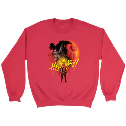 Hellboy Sweat - Sweat ras du cou / Rouge / S - T-shirt