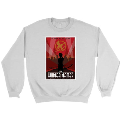 Hunger Games Sweat - Sweat ras du cou / Blanc / S - T-shirt