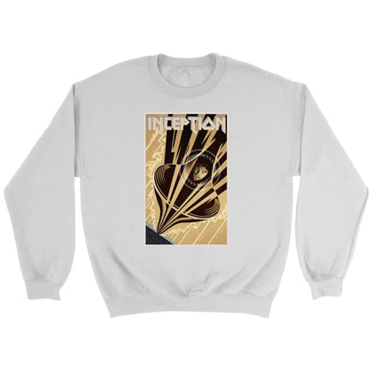 Inception Sweat - Sweat ras du cou / Blanc / S - T-shirt