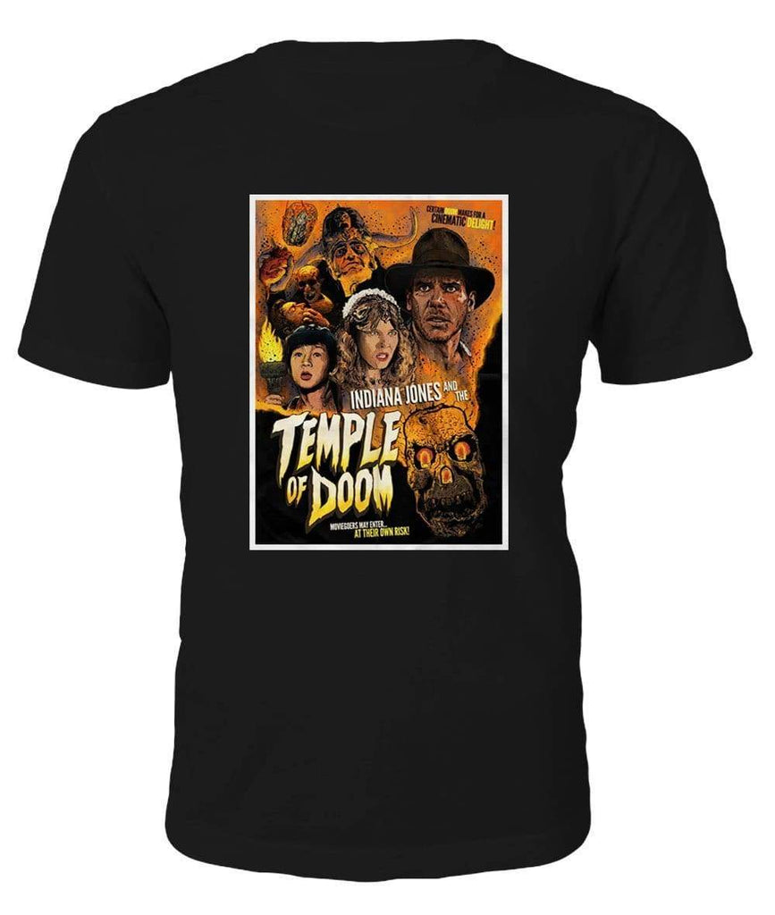 Indiana Jones hram iz Doom T-shirt - majica