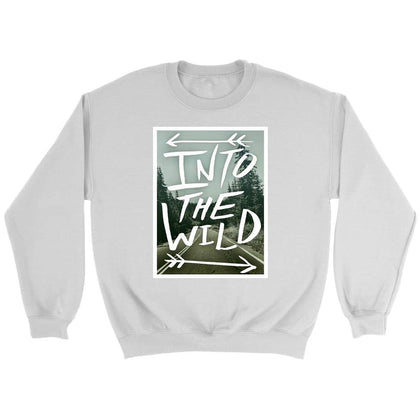 Into the Wild Sweat - Sweat ras du cou / Blanc / S - T-shirt