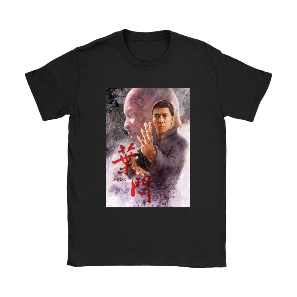 T-shirt Ip Man Womens - T-shirt Gildan Womens / Μαύρο / S - T-shirt