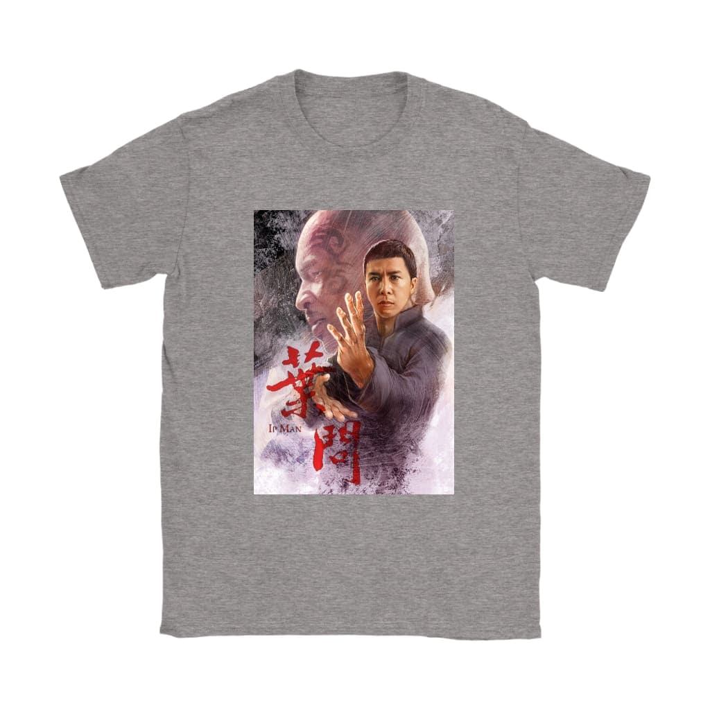 T-shirt Ip Man Womens - T-shirt Gildan Womens / Αθλητικό Γκρι / S - T-shirt