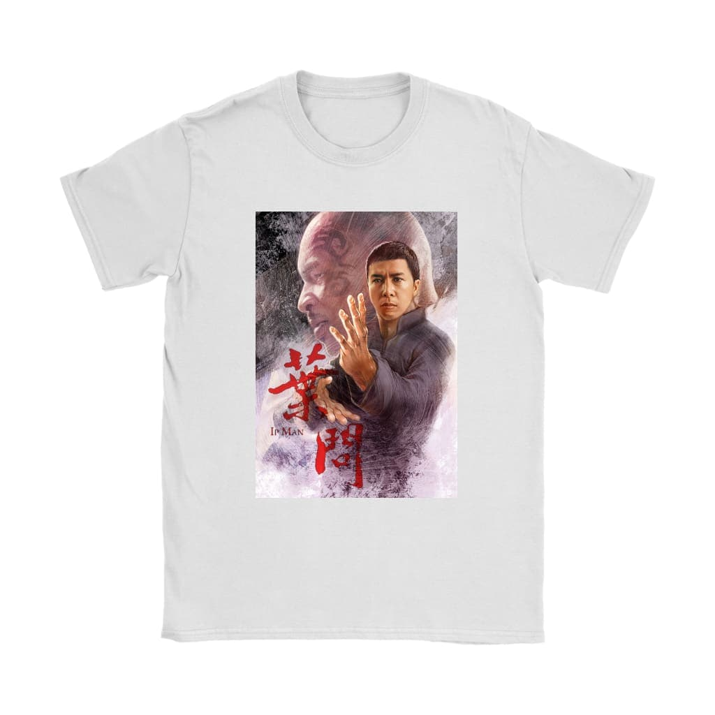 T-shirt Ip Man Womens - T-shirt Gildan Womens / Λευκό / S - T-shirt