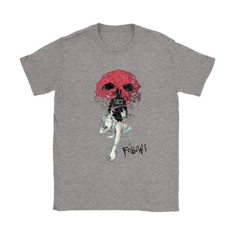 It Follows Dame T-shirt - Gildan Dame T-shirt / Sport Grå / S - T-shirt