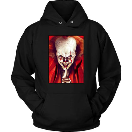 It  Pennywise Sweat à capuche - Sweat à capuche unisexe / Noir / S - T-shirt