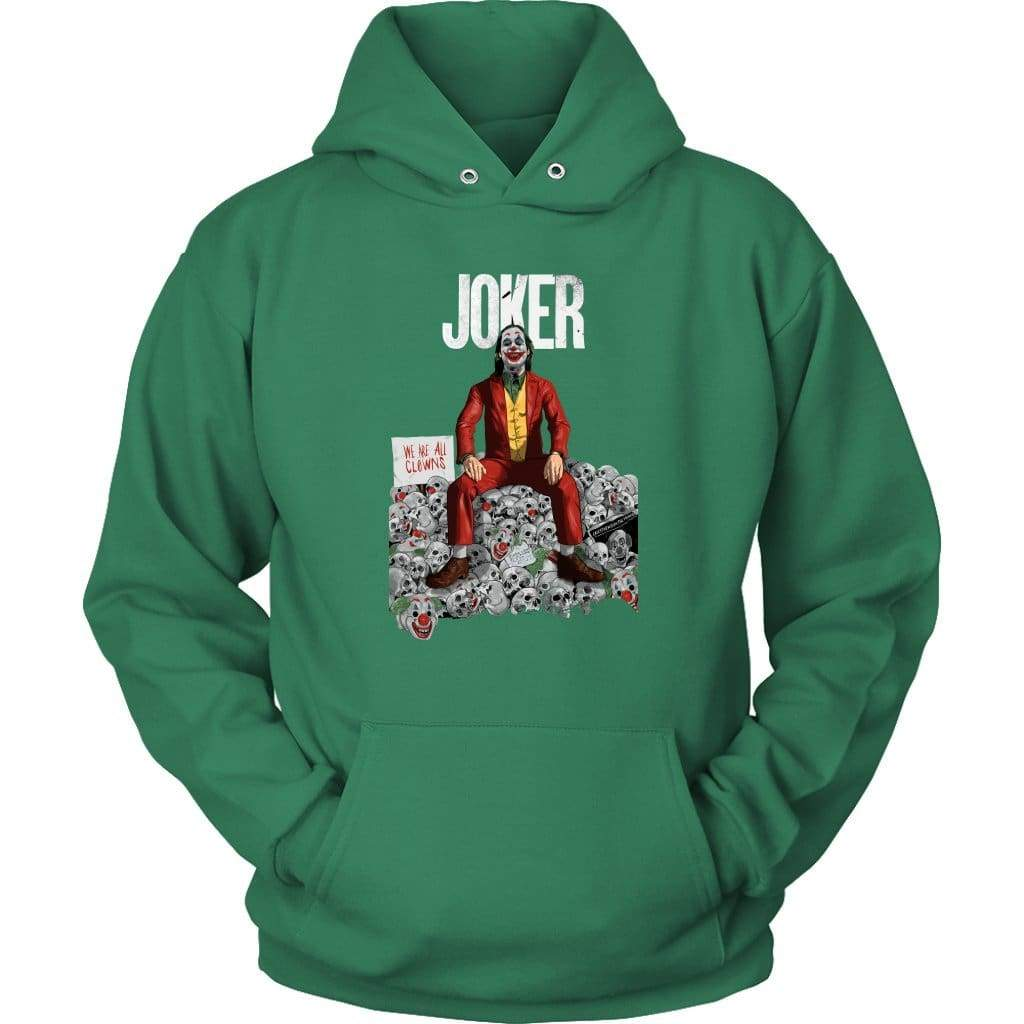 Joker Alternative Hoodie - Унисекс качулка / Kelly Green / S - Hoodie