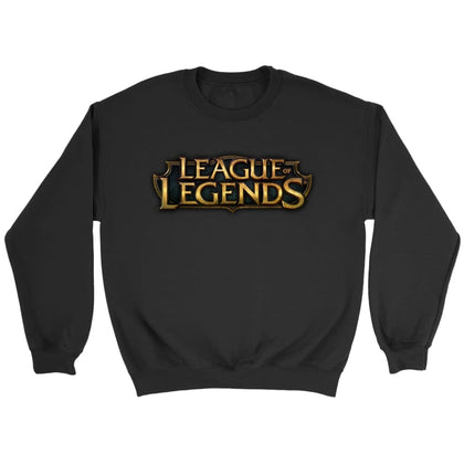 League of Legends Sweat-shirt à logo - Sweat ras du cou / Noir / S - T-shirt