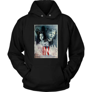 Let the Right One In Hoodie - Unisex Hoodie / Black / S - T-shirt