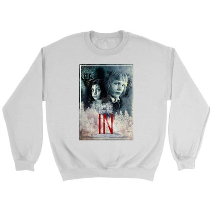 Let the Right One In Jopica - Crewneck jopica / bela / S - majica