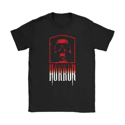 Masters of Horror Dame T-shirt - Gildan Dame T-shirt / Sort / S - T-shirt