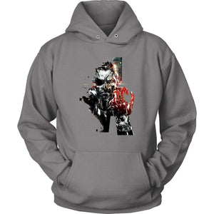 Metal Gear Solid Hoodie - Unisex Hoodie / Grey / S - T-shirt