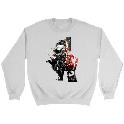 Metal Gear Solid Sweat - Sweat ras du cou / Blanc / S - T-shirt