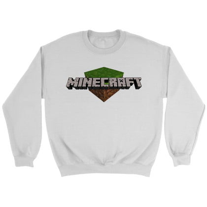 Minecraft Sweat - Sweat ras du cou / Blanc / S - T-shirt