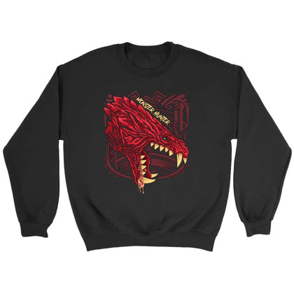Monster Hunter Sweat Odogaron - Sweat ras du cou / Noir / S - T-shirt