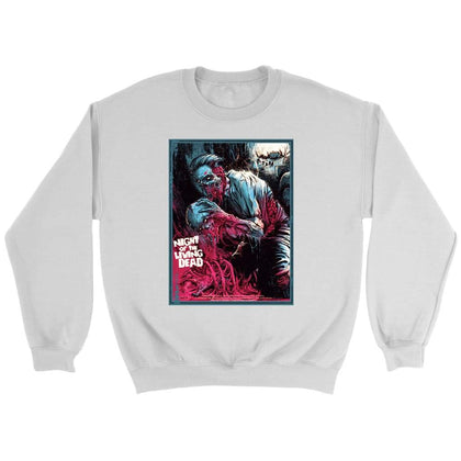 Night of the Living Dead Sweat - Sweat ras du cou / Blanc / S - T-shirt