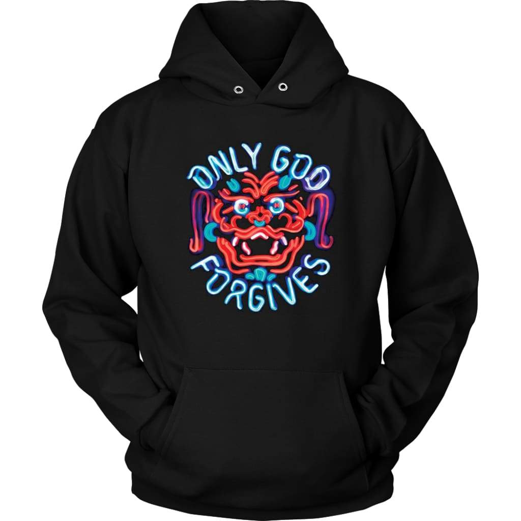 Only God Forgives Hoodie - Unisex Hoodie / Schwarz / S - T-Shirt