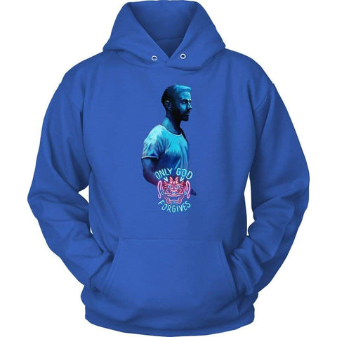 Only God Forgives Julian Hoodie - Unisex Hoodie / Royal Blue / S - Hoodie