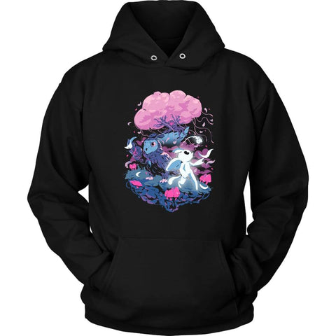 Ori and the Will of the Wisps Hoodie - Unisex Hoodie / Zwart / S - T-shirt