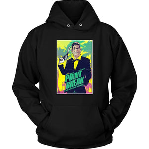 Point Break Hoodie - Unisex Hoodie / Black / S - T-shirt