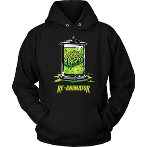 Re-Animator Hoodie - Unisex Hoodie / Black / S - T-shirt