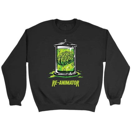 Re-Animator Sweat - Sweat ras du cou / Noir / S - T-shirt