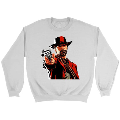 Red Dead Redemption 2 Sweatshirt - Sweat ras du cou / Blanc / S - T-shirt