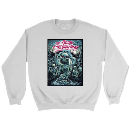 Return of the Living Dead Sweat - Sweat ras du cou / Blanc / S - T-shirt