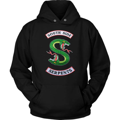 Riverdale South Side Serpents Sweat à capuche - Sweat à capuche unisexe / Noir / S - T-shirt