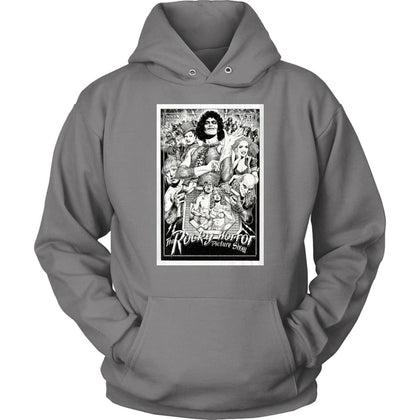 Rocky Horror Picture Show Hoodie - Unisex Hoodie / Grey / S - T-shirt