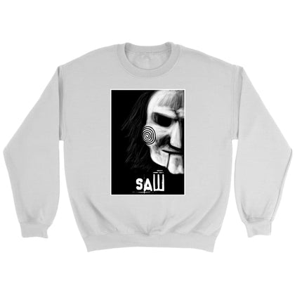 Saw Sweat - Sweat ras du cou / Blanc / S - T-shirt