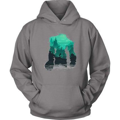 Shadow of the Colossus Hoodie - Unisex Hoodie / Grey / S - T-shirt