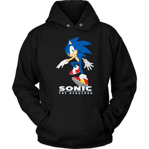 Sonic the Hedgehog Hoodie - Unisex Hoodie / Black / S - T-shirt