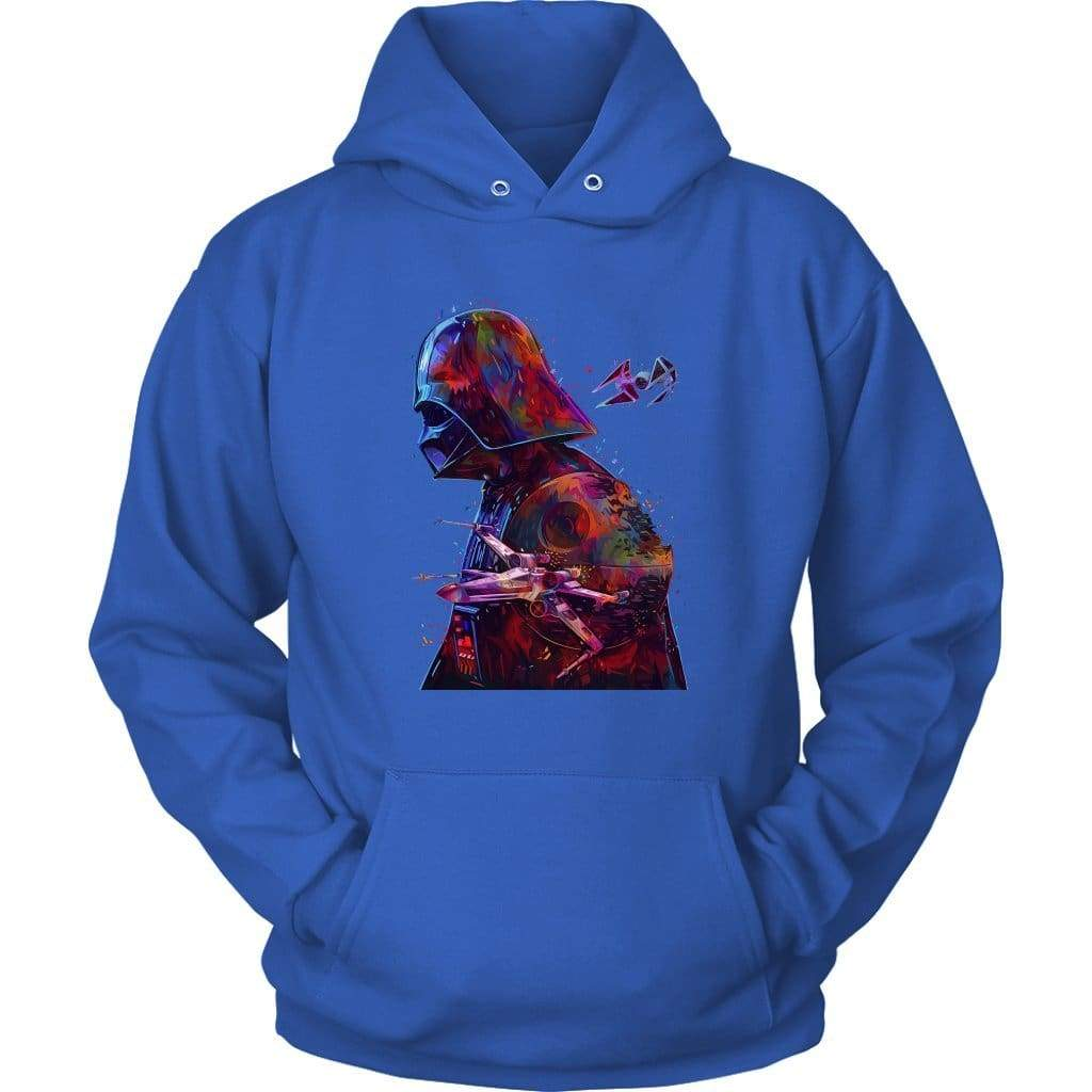Star Wars Dark Vador Huppari - Unisex-huppari / Royal Blue / S - huppari