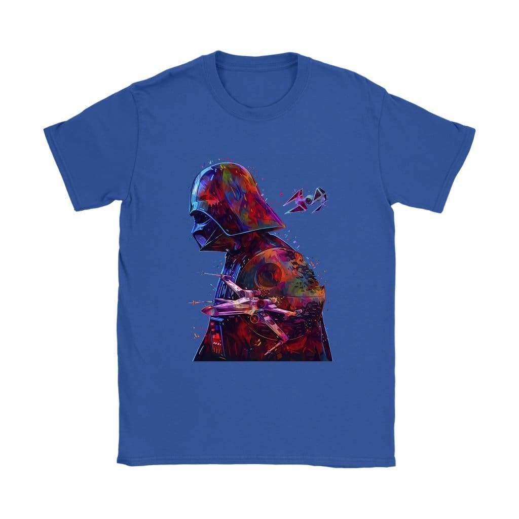Star Wars Dark Vador Γυναικεία T-shirt - T-Shirt Gildan Γυναικών / Royal Blue / S - T-shirt