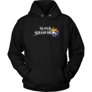 Super Smash Bros Hoodie - Unisex Hoodie / Black / S - T-shirt