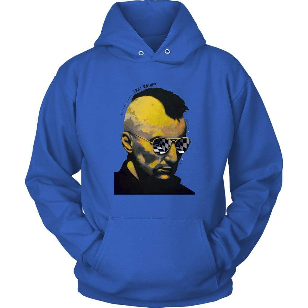 Taxi Driver Φούτερ - Unisex Hoodie / Royal Blue / S - Hoodie