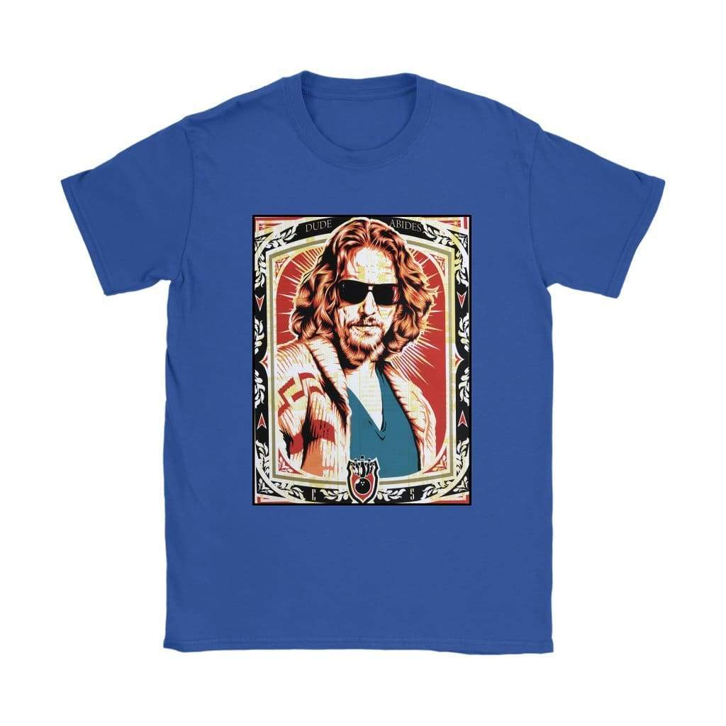 The Big Lebowski T-shirt Dude Abides Γυναικών - T-shirt Gildan Γυναικών / Royal Blue / S - T-shirt